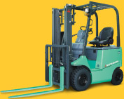 4-Wheel Electric Forklift|FB10CA - FB30A